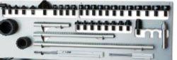 Liniał pomiarowy do pomiarów płyty podłogowej i nadwozia  z bazą danych on-line GYS GYSMETER – 052093