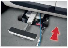 Mobilny podnośnik pneumatyczny GYS SPOT LIFT PRO udźwig 2,5 tony
