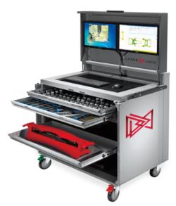 Elektroniczny – laserowy, wielopunktowy system pomiarowy CHIEF LaserLock